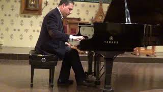 George Gershwin - Earl Wild: Somebody loves me, Michael Bulychev-Okser, piano.