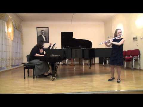 J S  Bach   Flute Sonata in G Minor BWV 1020 III part