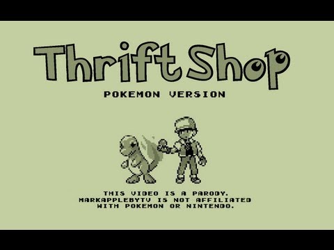 Thrift Shop Pokémon Version