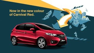 Honda Jazz – Get Jazzy in Red (Product Video)