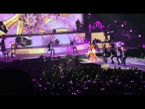 Ariana Grande Pink Champagne Ny 3 21 15 Madison Square