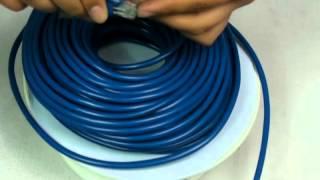 10.88 100 FT CAT5 RJ45 Ethernet Network Cable Blue-CL042BU
