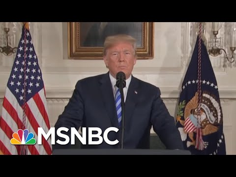 Kerry: Trump Has Taken A Situation Where There Was No Crisis, And Created Crisis | Deadline | MSNBC