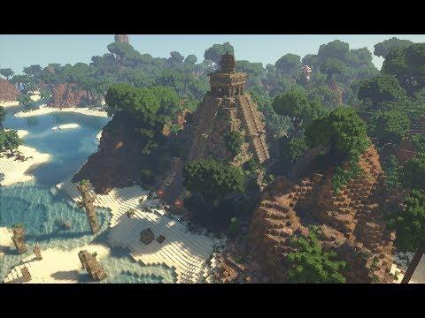 Minecraft | Tropical Island w/ Ruins, Pirates & more! | Cinematic