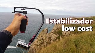 Estabilizador (Steadicam) low cost para cámaras de vídeo