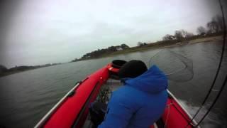 Лиепая , рыбалка в порту ...  21 .11. 2014