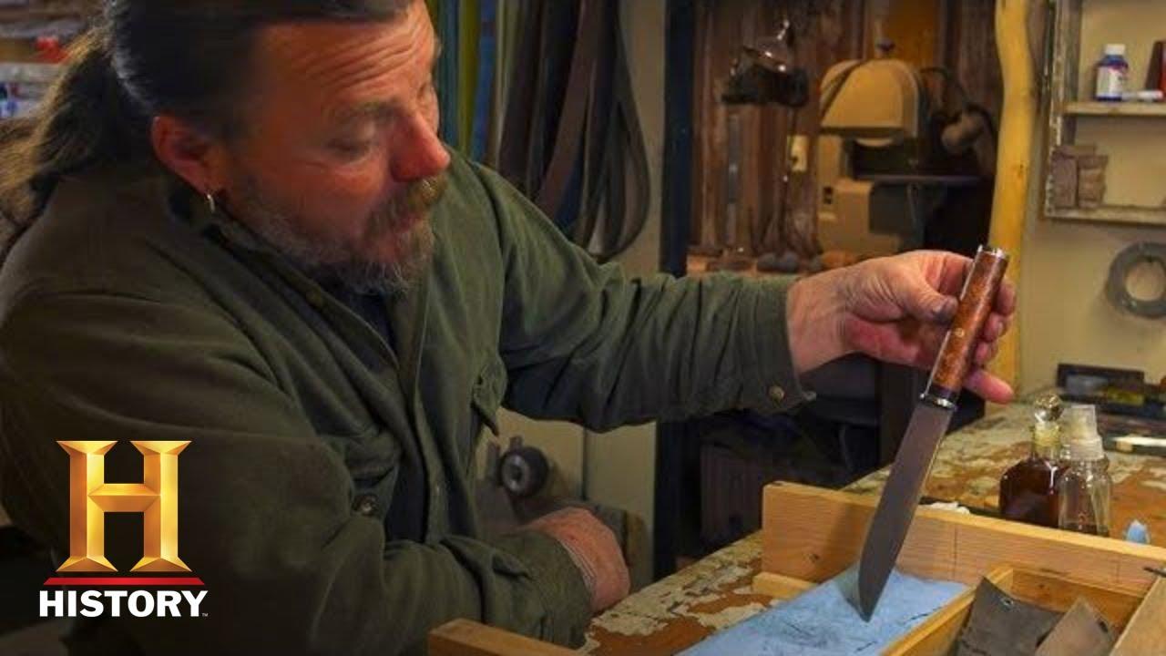 Mountain Men: Forging an Ozark Steel Blade (Season 8) | History