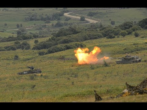 NATO and partners defend a member under attack - Getica Saber 17 exercise, part of SABER GUARDIAN 17
