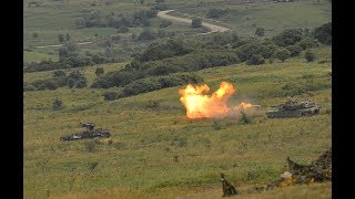 NATO and partner nations help defend a member under attack - Getica Saber 17 exercise, part of SABER GUARDIAN 17.  The exercise is based on a fictional scenario where European countries are successive