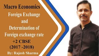 Foreign Exchange and determination of f.exchange rate +2 cbse macro economics