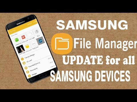 File Manager Update For All Samsung Devices No Root