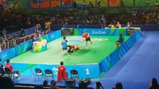 RIO2016 - China (Ma Long) x Japan (Niwa Koki) - Table Tennis Team Events