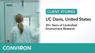 UC Davis - 20 Years of Controlled Environment Research