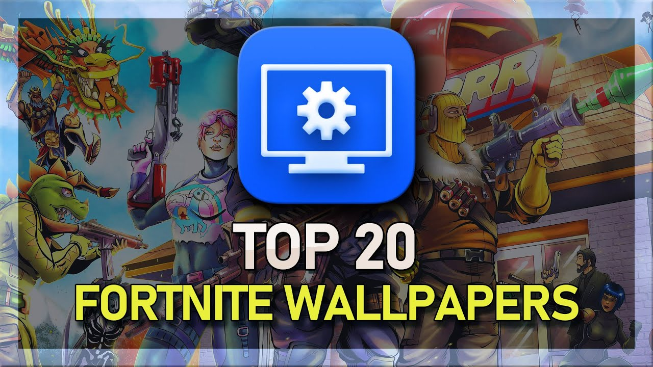 Top 20 Fortnite Animated Wallpapers Wallpaper Engine 2019 Youtube
