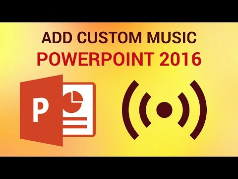 How to Add Custom Music and Sound in PowerPoint 2016