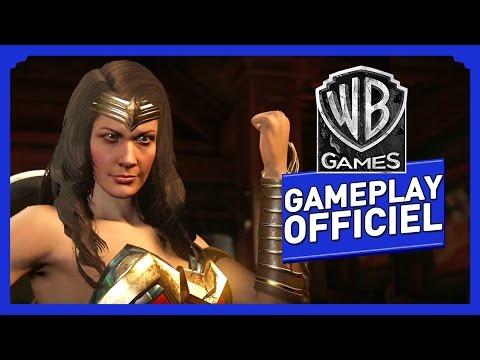 Injustice 2 - Gameplay Officiel (VOST) - Wonder Woman