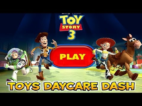 Toy Story 3 - Toys Daycare Dash - THE END [Gameplay, Walkthrough]