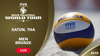 Satun 1-Star 2019 - Men Bronze Medal Match - Beach Volleyball World Tour