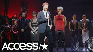Prince Harry Joins Cast Of 'Bat Out Of Hell' Onstage During Solo Theater Outing | Access