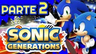 ¡MENORES en un CASINO! :DD -  SONIC GENERATIONS [3DS] #2