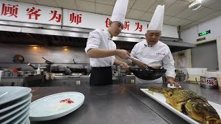 How chef practices thrift at restaurant in Tianjin, China