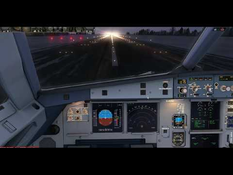 Microsoft Flight Simulator - Aerosoft Airbus Flown by real Airbus Pilot - Full flight Demonstration