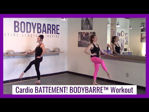 Cardio BATTEMENT!! BodyBarre™ Workout with Paige!