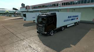 A trip in Corsica on the ETS2 map using the Spring Graphics/Weather Mod.  Spring Graphics/Weather v3.7 https://grimesmods.wordpress.com/2017/05/17/spring-weather-mod/