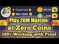 Ludo Star Unlimited Gold/Coins Trick | Play 20M Match with 0 Coins/Gold | Ludo Star Hack |