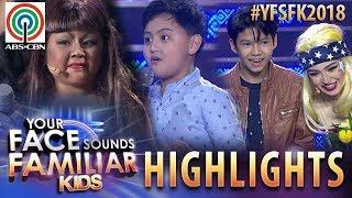 YFSF Kids 2018 Highlights: Justin at Alonzo, may nakakakilig na sorpresa para kina AC at Chun
