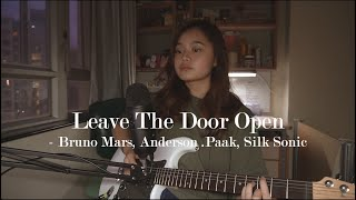 Download leave the door open - bruno mars, anderson .paak, silk sonic   #seivabelcover