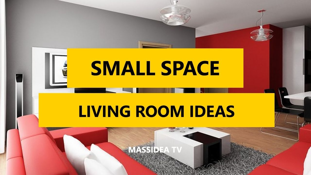 35+ Small Space Living Room Design Ideas for Studio Apartments ...