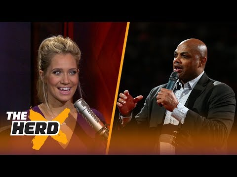 Charles Barkley rips NBA for coddling players with more rest - Kristine and Colin react | THE HERD