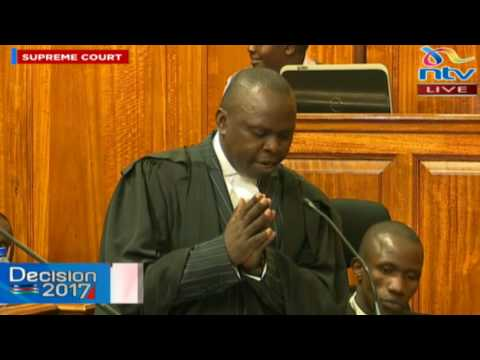 Supreme Court hears Muhoroni MP seat nomination dispute