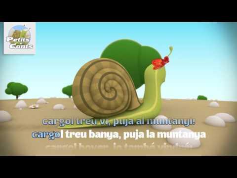 Cargol treu banya. Versió instrumental amb lletres (Karaoke)