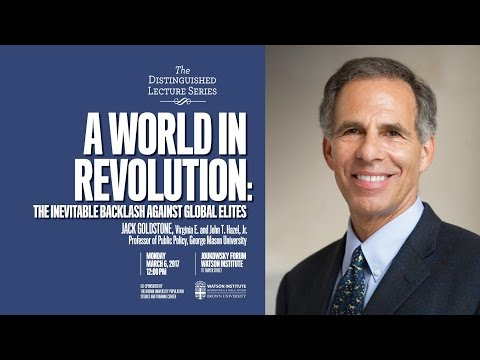 A World in Revolution: The Inevitable Backlash against Global Elites