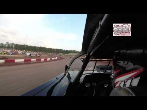 Bobby Richey Crate Latemodel Ride Along Dixie Speedway 4/29/17!