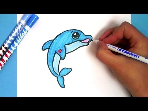 Kawaii Delfin Selber Malen Youtube