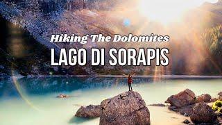 LAGO DI SORAPIS | Trail 215 | Hiking the Dolomites | South Tyrol, Italy + Lago di Misurina Stopover