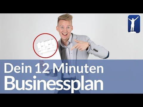 So erstellst Du den perfekten Businessplan in 12 Minuten