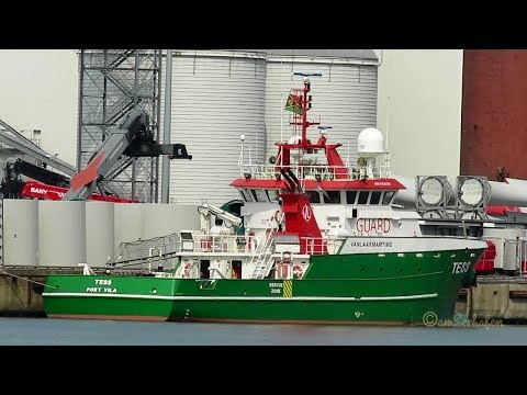 offshore guard vessels TESS YJUV8 IMO  9736559 & SEAGULL YJTW4 7936765 Emden