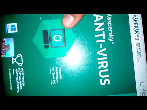 KASPERSKY ANTIVIRUS-Internet security-UNBOXING-REVIEW