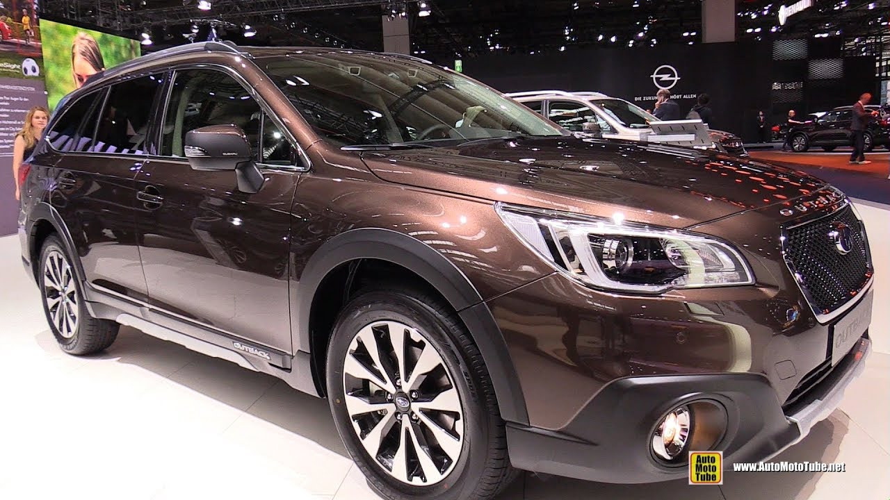 2018 subaru outback sport exterior and interior walkaround 2017 frankfurt auto show youtube. Black Bedroom Furniture Sets. Home Design Ideas