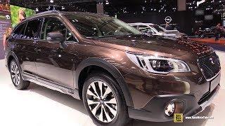 2018 Subaru Outback Sport - Exterior and Interior Walkaround - 2017 Frankfurt Auto Show