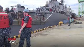 At Least 10 U.S. Sailors Missing as USS John S. McCain Collides With Merchant Ship