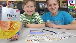 THINK Training für den Kopf Kids trainiert Logik + Konzentration Ravensburger TipTapTube Kinderkanal