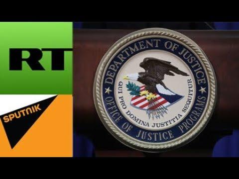 FBI, DOJ Eye Russian Media Outlets as 'Foreign Agents'