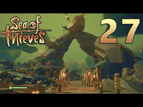 [27] Treasure Hunting On The Stormy Seas!!! (Sea Of Thieves Gameplay PC)