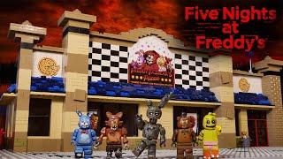 LEGO Самоделка - Пиццерия Фредди / Horror Game Five Nights at Freddy's / LEGO MOC FNaF