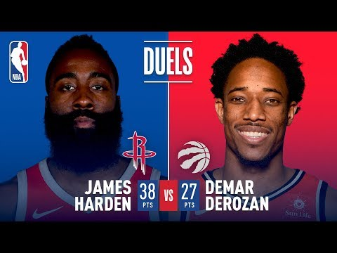 James Harden and DeMar DeRozan Duel in Houston | November 14, 2017